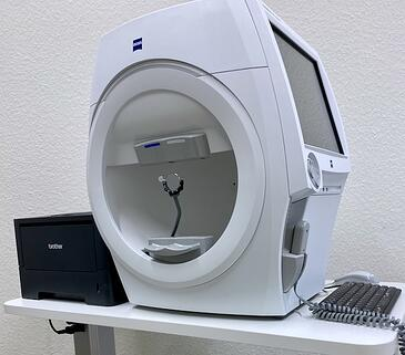 Statische kinetische Gesichtsfeldtests Fedorov Restore Vision Clinic Berlin