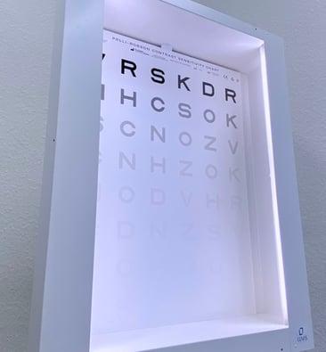 Optic Nerve Damage Foggy Hazy Vision Contrast Test