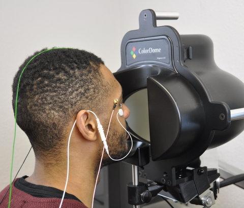 Elektroretinogramm und Visuelle Evozierte Potenziale Untersuchung